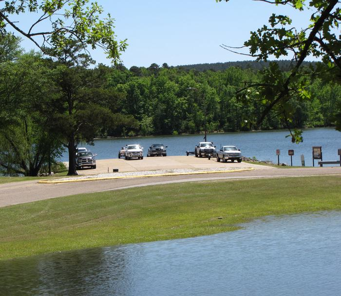 Boat Ramp Launching Ramp located on east loop of campground
