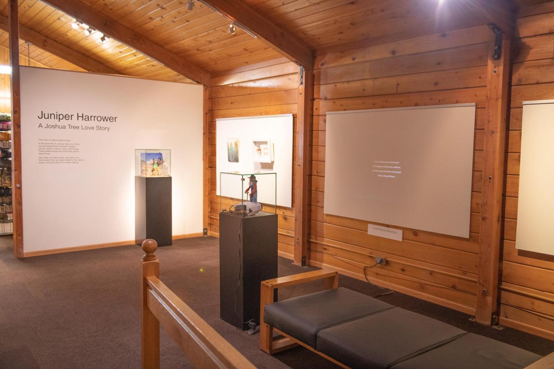 Black Rock GalleryAn art exhibit in the Black Rock Nature Center.