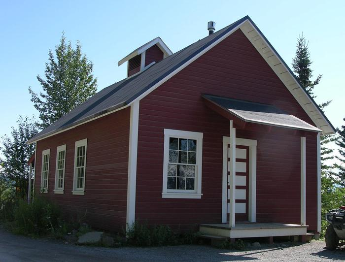 Kennecott Visitor Center in the Blackburn School