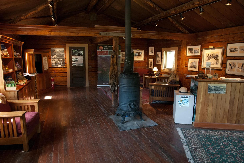 Chitina Ranger Station inside