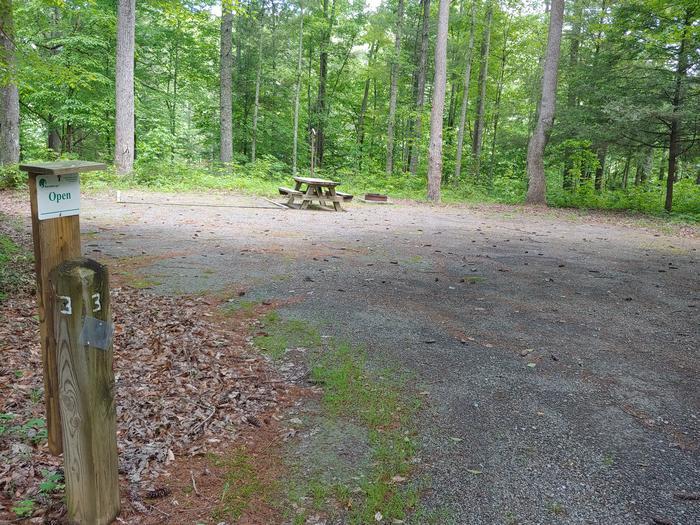 Campsite #3 Reservable