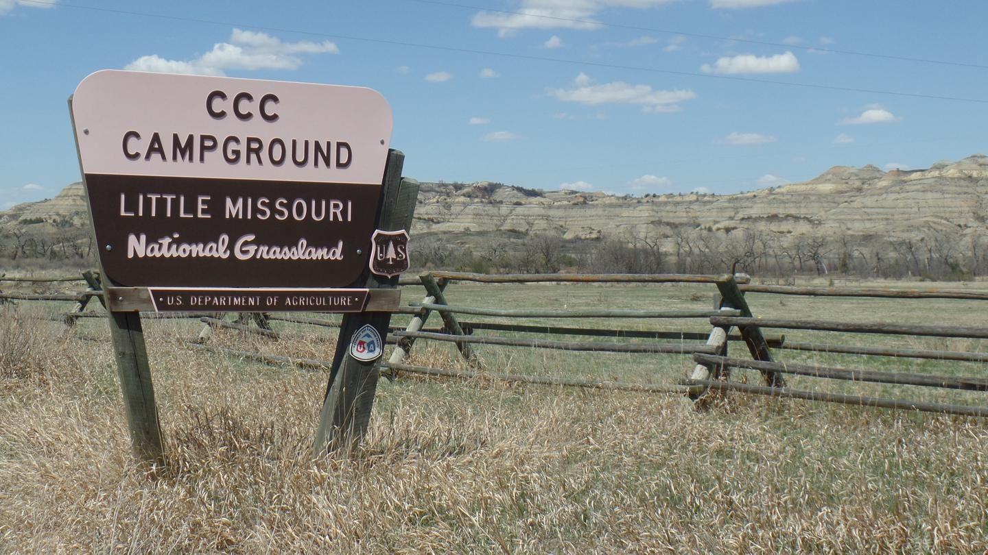 Welcome to the CCC Campground on the Little Missouri National GrasslandsWelcome to the CCC Campground on the Little Missouri National Grasslands in the heart of the Badlands of North Dakota.