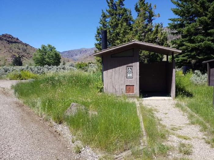 restroom next to site 5Restroom next to site 5