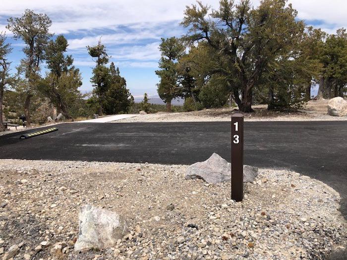 Hilltop Site 13 drive