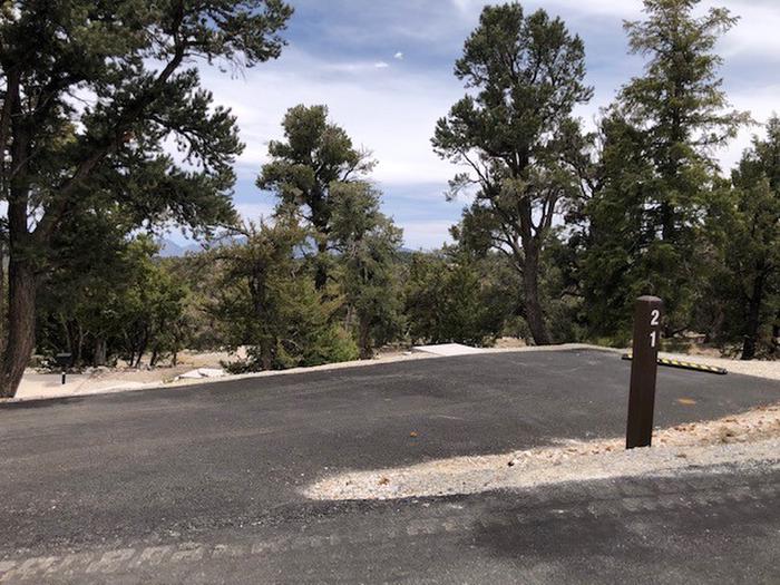 Hilltop Site 21 driveHilltop Site drive