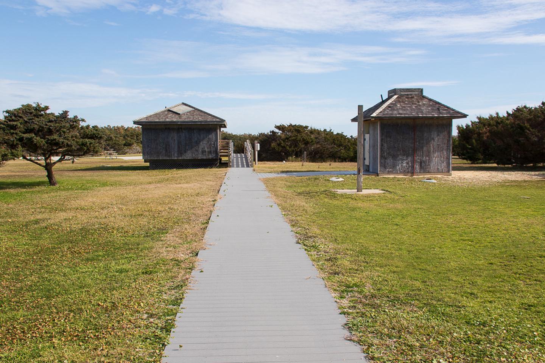 Ocracoke Bath HousesBathroom and Showers