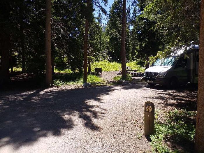 Hunter Peak Camp Site 6 Post