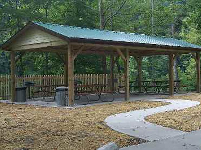 Day use shelther at leatherwoodday use shelter at leatherwood
