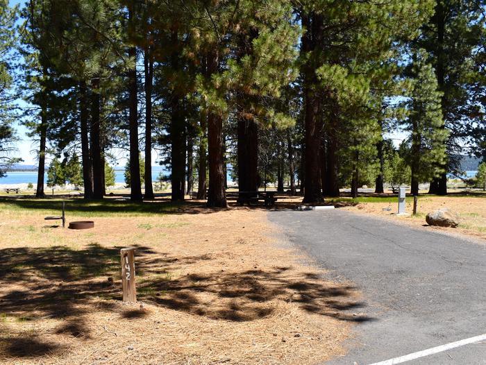 Site #142Merrill Campground, Site #142