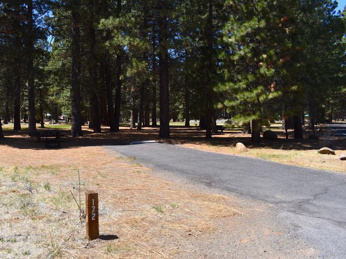 Site #172Merrill Campground, Site #172