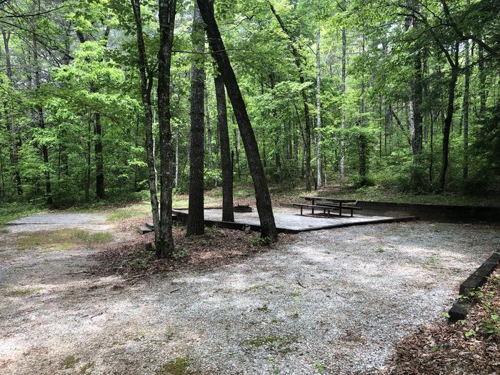 Large roadside primitive site