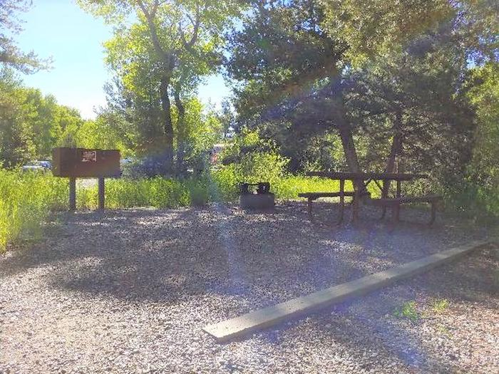 Wapiti Campsite 16 - Picnic Area