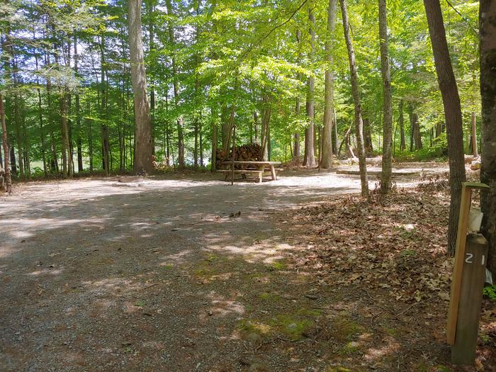 Campsite #21 Reservable