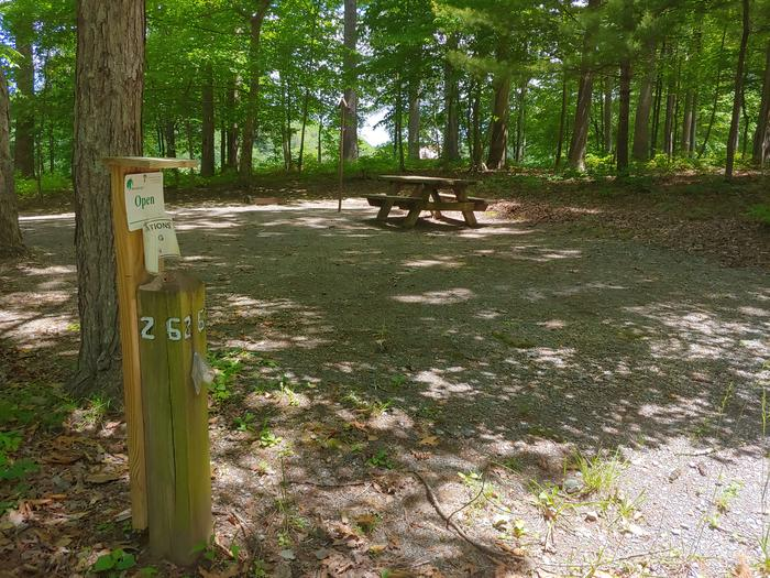 Campsite #26 Reservable