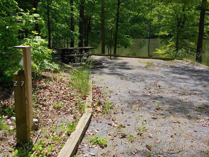 Campsite #27 Non-Reservable