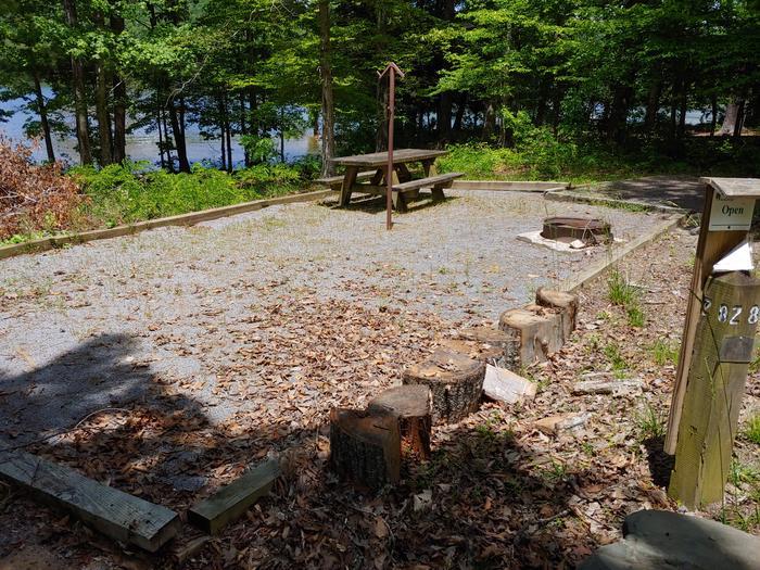 Campsite #28 Non-Reservable