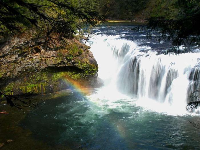 Lewis River RainbowRainbow at Lewis River