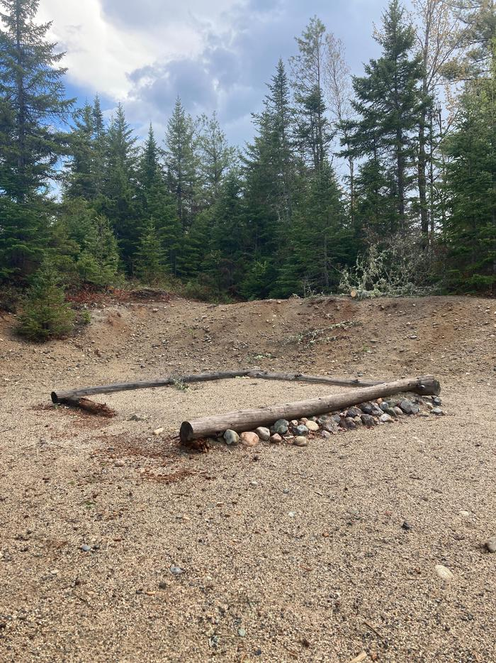 Sandbank Stream Tent PadEach site at Sandbank Stream has a gravel surface.