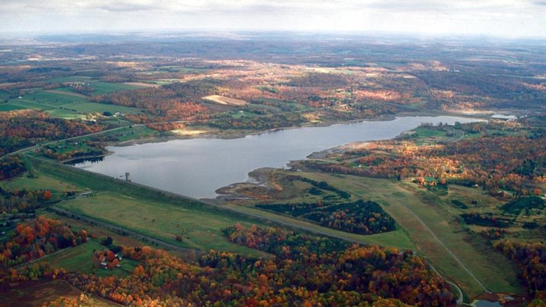 Woodcock Creek Lake Areal Photo