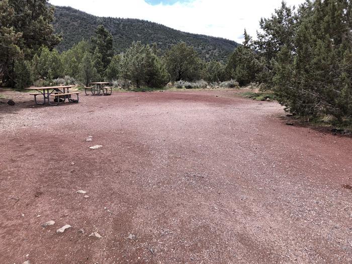Site 18 Entrance Campsite 18