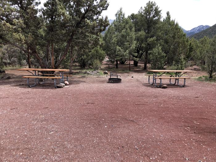 Site 18Picnic Tables and Fire Ring
