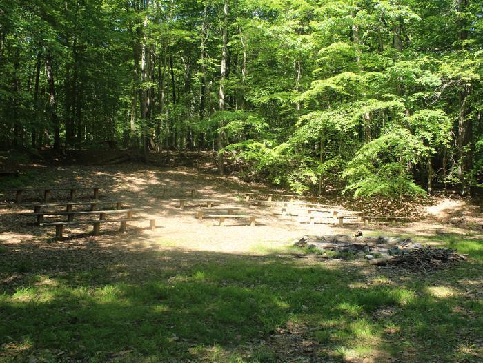 AmphitheaterSpring photo of Turkey Run Group Campground Amphitheater