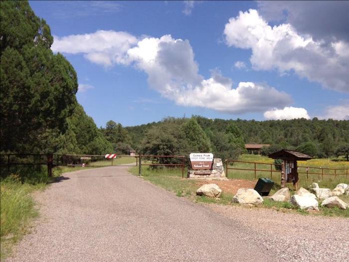 Entrance Entrance to Gomez Peak Pavilion