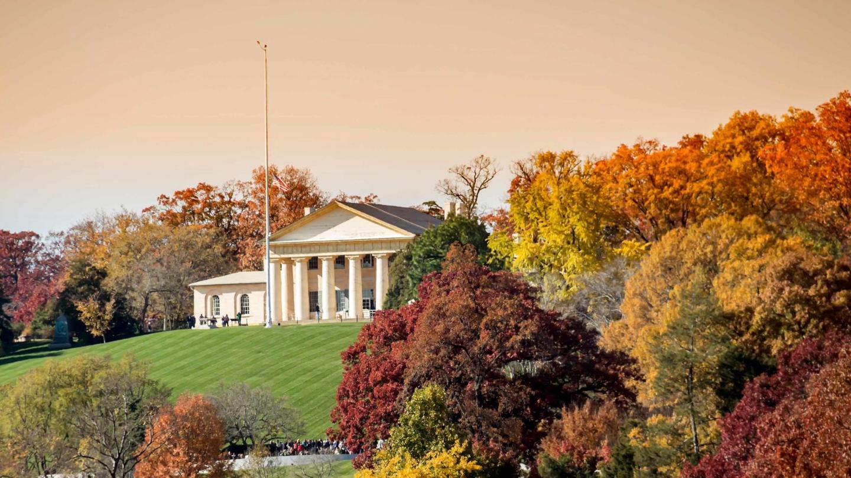 Arlington House, The Robert E. Lee MemorialFall at Arlington House