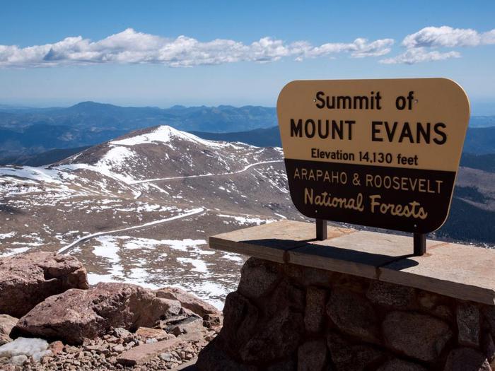 Mount Evans SummitMount Evans Summit - 14,130 ft