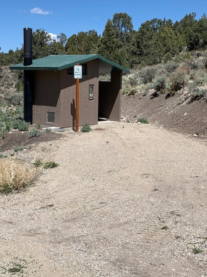 Toilets at the campground.Vault toilets available onsite