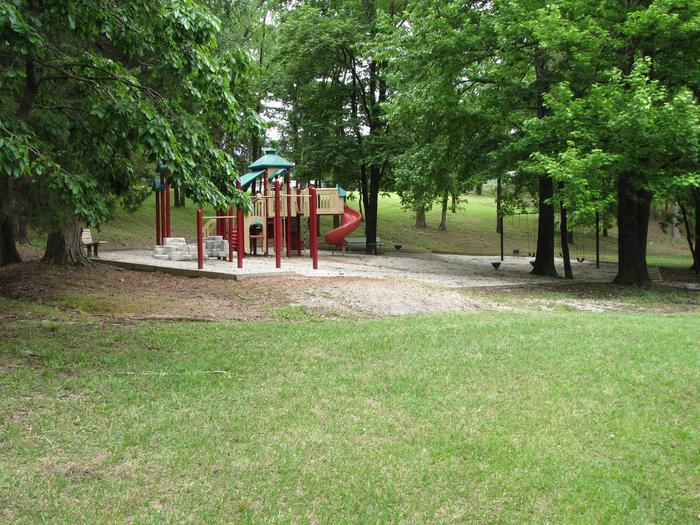PlaygroundPlayground located on loop with sites 1 - 9