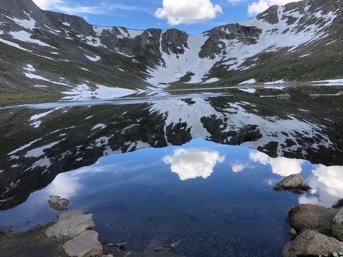 Summit LakeSummit Lake reflection