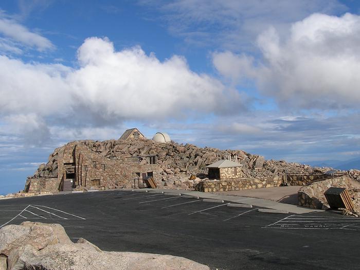 Mount Evans Summit Interpretive Area (Crest House)