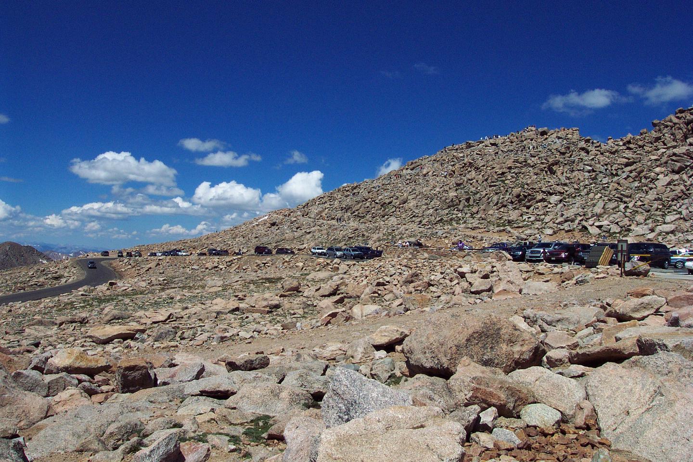 Summit of Mount Evans