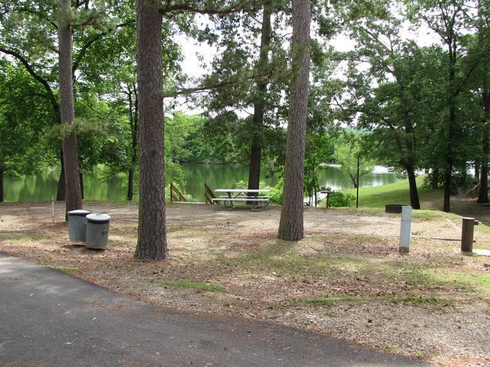 Campsite 25Kirby Landing campsite # 25