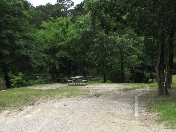 Campsite 91Kirby Landing campsite # 91