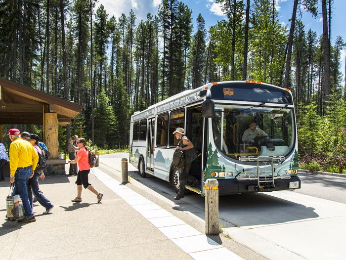 Preview photo of Glacier National Park Shuttle System Tickets