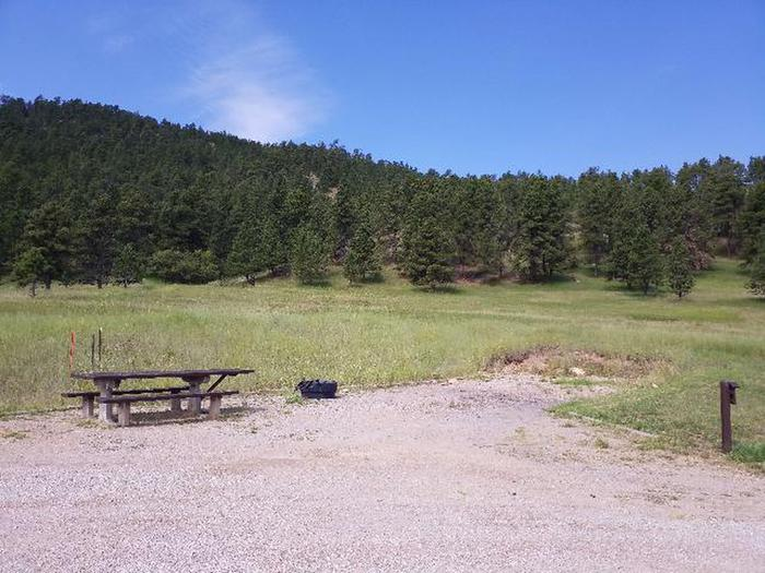 View of surrounding areaSurrounding view around Site 1.