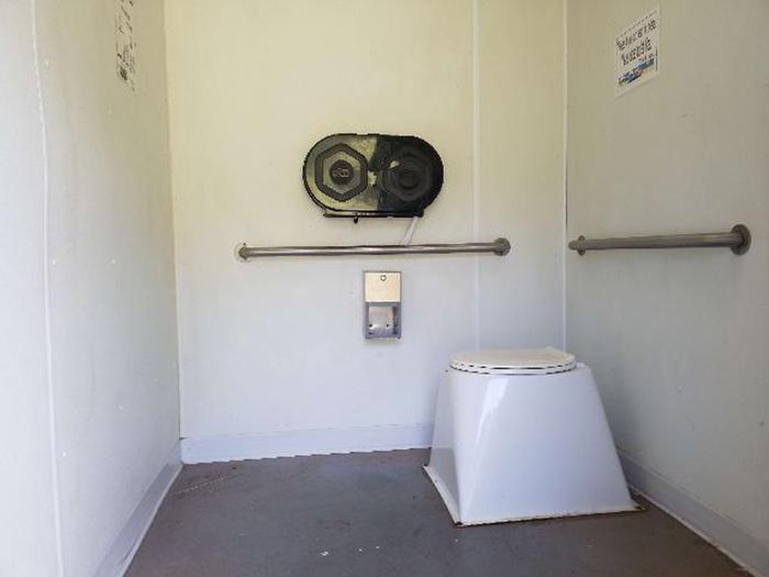 Inside restroomsInside the restrooms