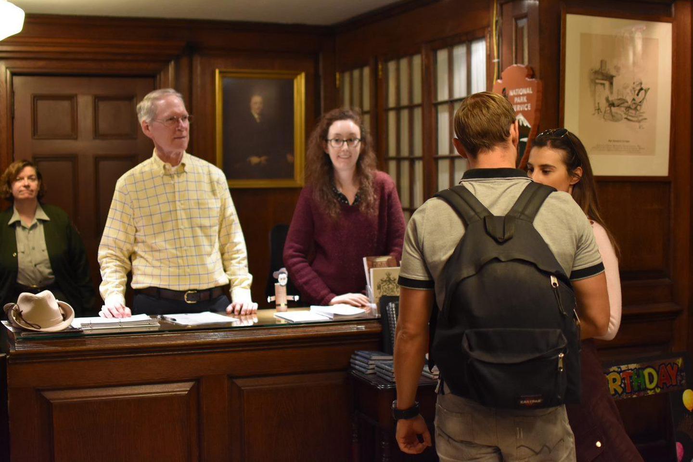 Visitor Center Information DeskVisitor Center Desk