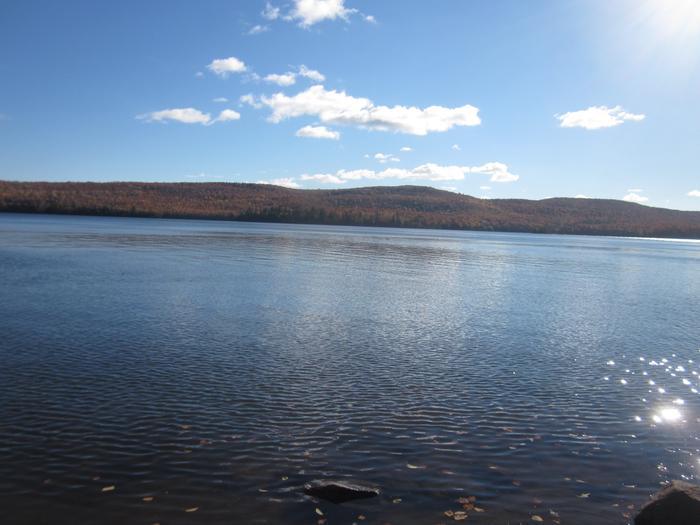 View of Lake Desor from North Lake Desor CampgroundLake Desor is Isle Royale National Park's second largest inland lake.