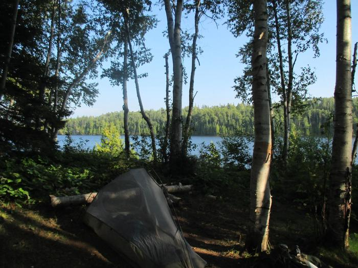 View of Lake WhittleseyThere are many great places to go on Isle Royale.