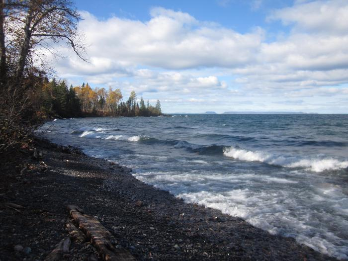 Little Todd Harbor ShorelineLittle Todd Harbor offers majestic views of Lake Superior and Canada