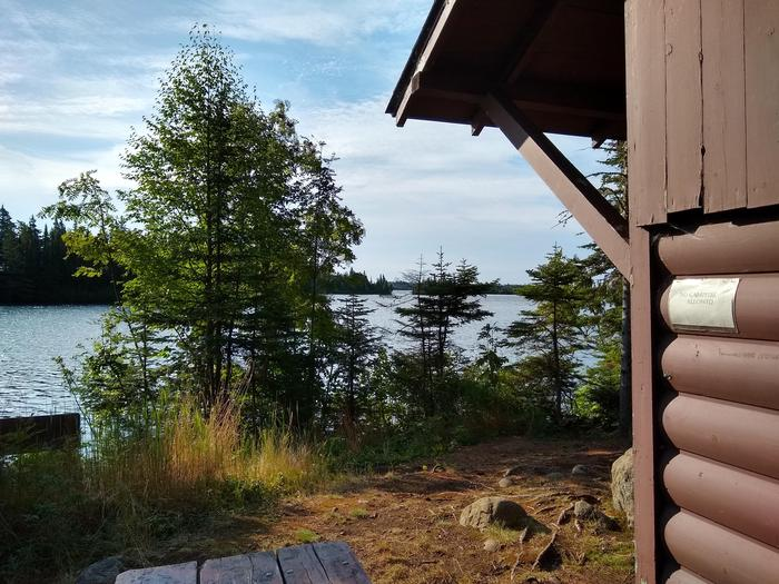 View of Merrit LaneMerritt Lane Campground is a popular paddling destination.