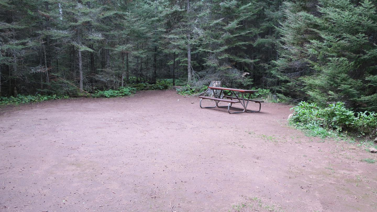 Moskey Basin Campground Group Site #1Group campsites are by reservation ahead of time for parties greater than 6 people.