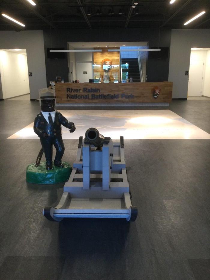 Lobby of Visitor CenterLobby of New Visitor Center
