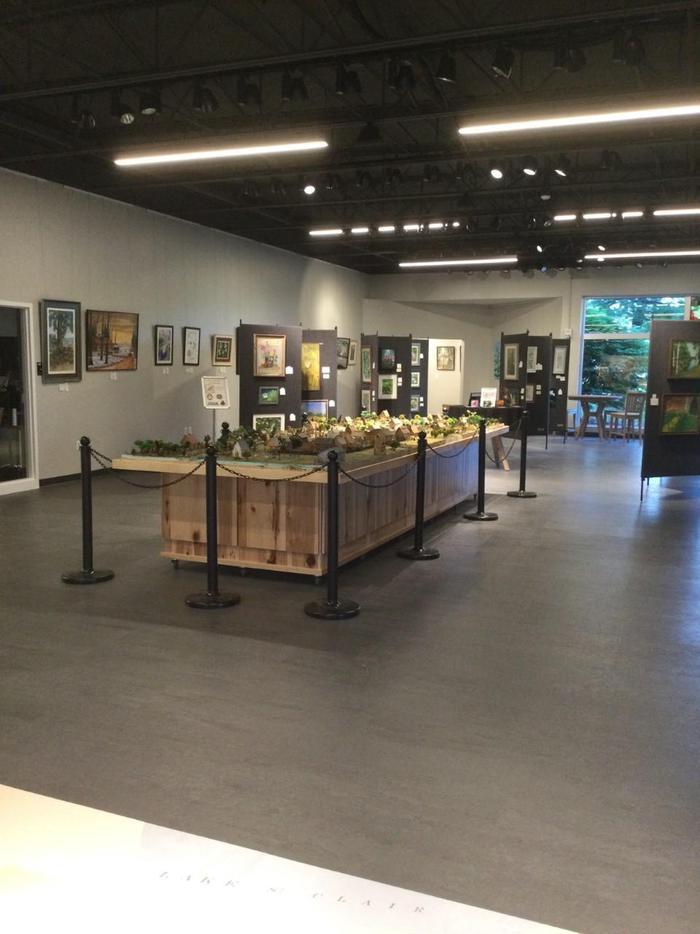 Visitor Center DioramaDiorama in New Visitor Center