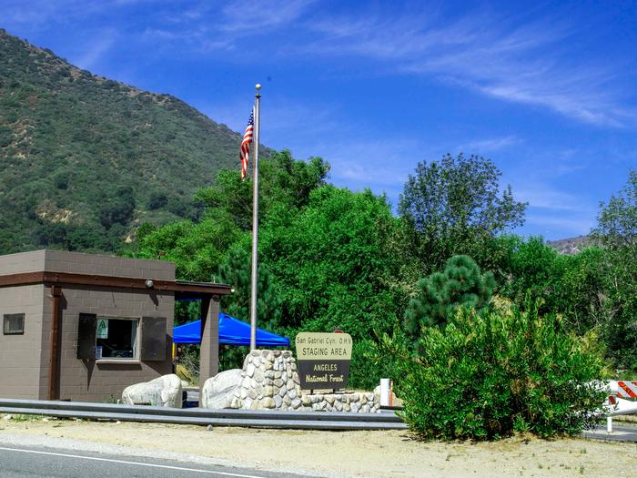San Gabriel Canyon OHV Area Entrance Station