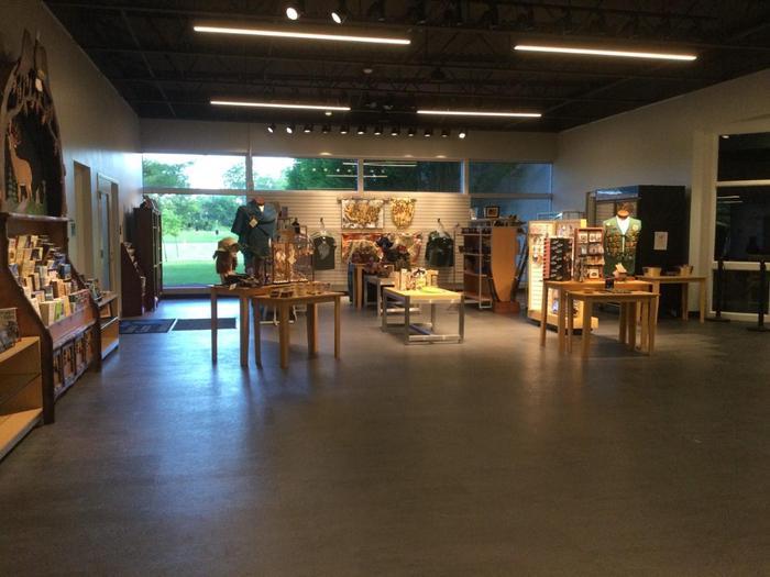River Raisin Trading PostNew Visitor Center Store