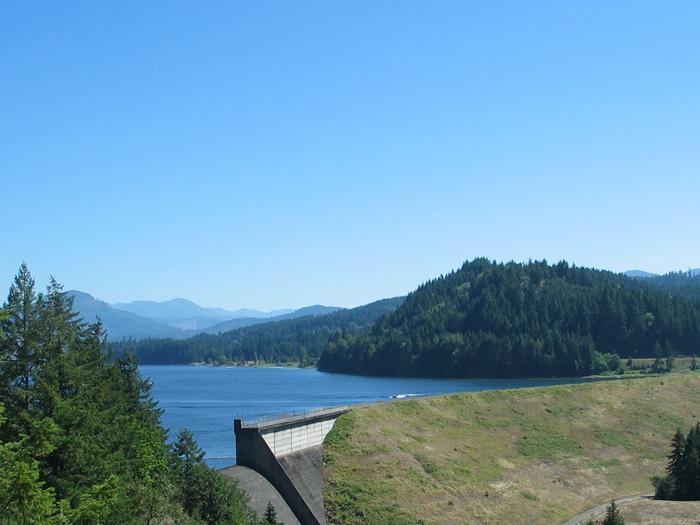 Dorena Lake and Dam
